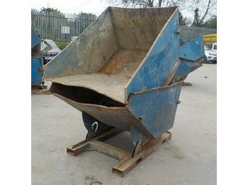 Conquip Tipping Skip to suit Forklift (2 of) - betonkeverő
