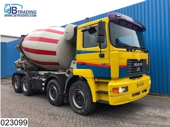 MAN 37 310 8x4, EURO 2, LT 10 M3, Beton / Concrete mixer, Airco, Steel suspension, Manual, Hub reduction - betonkeverő