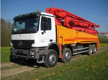 SUMAB GREAT CONDITION! P-36 Mobile BOOM Pump - betonszivattyú