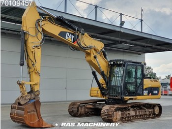 Caterpillar 323D L All functies and bucket with tips - lánctalpas kotró