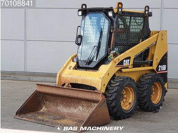 Caterpillar 216B Good tyres - clean machine - mini homlokrakodó
