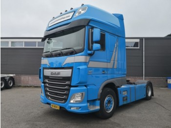 DAF FTP XF 460 6x2 SuperSpaceCab Euro6 - 2 tanks - Fridge/Microwave - Top-Conditon! - nyergesvontató