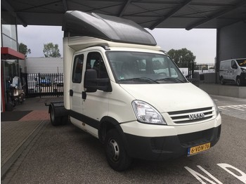 Iveco Daily 40 C 18 D 3.0 7,5t GVW BE Trekker DC Dubbel Cabine Spoiler/Dubbel lucht/Luchtvering/Gev.stoel/Airco - nyergesvontató