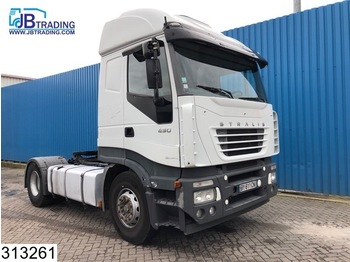 Iveco Stralis 430 AS, Manual, Airco - nyergesvontató