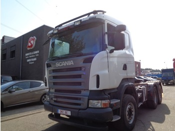 Nyergesvontató Scania R 500 manual/retarder/Steel
