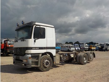 Alvaz teherautó Mercedes-Benz Actros 2540 (FRONT STEEL/ MANUAL GEARBOX/ BIG AXLE)