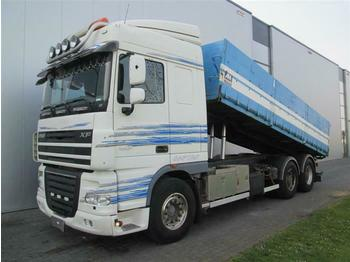 DAF XF105.460 6X4 MANUAL HUB REDUCTION EURO 4  - billenőplatós teherautó