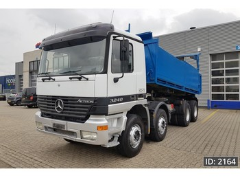 Mercedes-Benz Actros 3240 Day Cab, Euro 3, - Full steel / Big axles - - billenőplatós teherautó