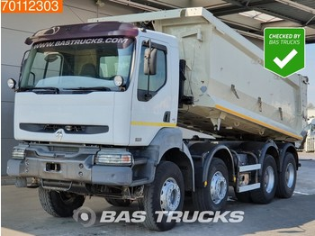 Renault Kerax 420.40 8X4 Manual BigAxle Steelsuspension 20m3 Euro 3 - billenőplatós teherautó