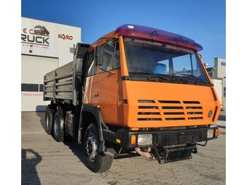 STEYR 32S28, Tipper 6x6, Full Steel, big axles ,6 cylinders - billenőplatós teherautó