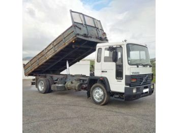 VOLVO FL6 14 Intercooler left hand drive 14 ton electric brake 3 way - billenőplatós teherautó